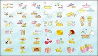 cute,icon,vector,material,good