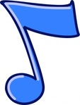 mbtwms,musical,note,music,musical note,score,sound,colour,outline,cartoon,symbol