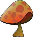 mushroom,plant,media,clip art,public domain,image,svg