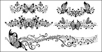 music floral,butterfly vector,decorative pattern butterfly,beautiful,butterfly,pattern,material,floral