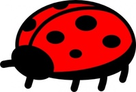 peterm,ladybug,nature,animal,insect,ladybird,bug,cartoon,outline,contour,colouring book