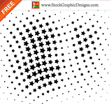 abstract design,decoration,dot,half tone,pattern,shape,spotted,star,halftone element