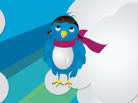 bird,pilot,twitter,blue,animal,twitter bird,tweet,technology
