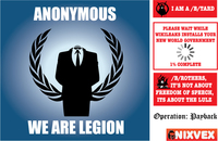 julian assange,wikileaks,anonymous,operation: payback,4chan/b/,v for vendetta,pirate bay