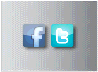 facebook,icon,twitter