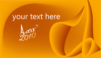 card,business,orange,creative,background,abstract,curves in orange,flowing curve,hexagon,text