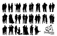 people,silhouette,couple,element,person,lover