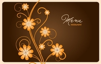 bar,flower,menu,restaurant,swirl,template
