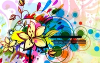 background,floral,colorful,abstract,flower