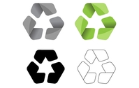 recycling,symbol,green,eco,recycle,glossy,modern