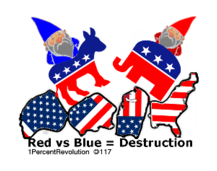 117,revolution,gnome,republican,democrat,destruction,flag,usa,country,team,teamwork,divided,revolution,1percentrevolution,revolution,1percentrevolution