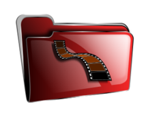 folder,icon,red,video,roshellin