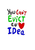 impossible,evict,idea,occupy