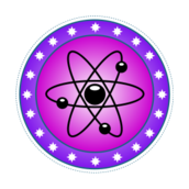 atom,science,nuclear,color,violet