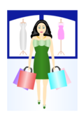 retail,shopping,woman,dress,clothes,purchase,bag,sale,mall,gift,green,retail,purchase,bag,sale,gift