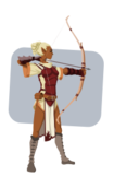elf,elven,archer,ranger,bowman,bow,arrow,shoot,aim,fantasy,rpg,warrior,marksman