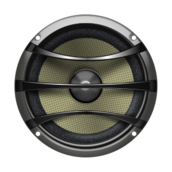 audio,sub,speaker,subwoofer,metal,electronics,grey,pale,yellow,silver,shiny,music