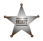 sheriff,cowboy,western,outlaw,badge,police,marshal,lawman,posse,deputy
