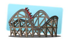 rollercoaster,amusement park,theme park,amusement,fun