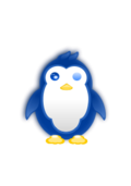 penguin,baby,cute,shiny,white,blue,cold,ice,winter,yellow,gold,hair,penguin