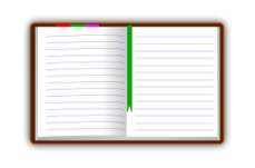 diary,book,open,write,public,domain,diary,clip-art,svg,png
