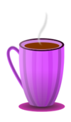 coffee,tea,cup,beverage,hot,pink,svg,png,inkscape
