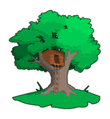 tree,plant,nature,house,plank,wood,building,childhood,child
