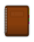 diary,journal,spiral,bind,book,marker,student,log,icon,web,media,svg,png