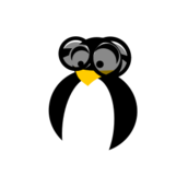 penguin,tux,linux,smart,intelligent,clever,knowledgeable,brainy,sharp,intellectual
