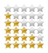 5,five,yellow,grey,gray,star,rating,system,png,svg,how i did it,media,clip art,public domain