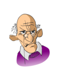 old,man,aged,portrait,cartoon,angry,old,man,portrait,cartoon