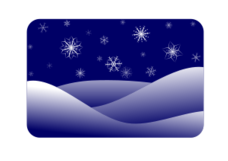 winter,winter scenery,snowflake,snow,dark,dark blue,blue
