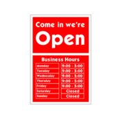 business,hour,sign,open,closed,office