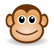 funny,face,monkey,singe,animal,mammal,cartoon,colour,tête