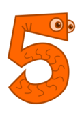 number,cartoon,math,numeral,counting,five,media,clip art,public domain,image,svg,png,number,numeral