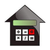 mortgage,calculate,home icon,real estate,valuation
