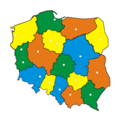 poland,map,color,administration