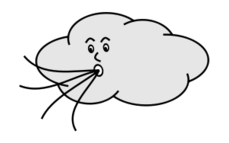 cloud,wind,weather,face