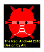 android 系统,android 的红色,机器人 bujung
