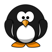 cartoon,animal,bird,penguin,tux,colour,color