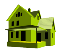 house,green,home