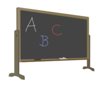 blackboard,school,education,letter,chalk,chalkboard,stand,letter