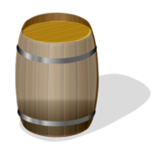 barrel,wooden,container