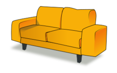 sofa-tandem,sofa,living room,furniture