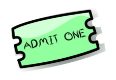 ticket,media,clip art,public domain,image,svg