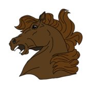 animal,mammal,horse,brown,head,media,clip art,public domain,image,png,svg