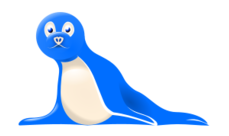 seal,animal,blue,media,clip art,public domain,image,jpg,svg,inkscape
