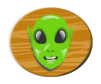 media,clip art,public domain,image,png,svg,alien,head,ufo,ovni,cartoon,colour