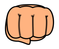 chibi,fist,cartoon,anime,manga,people,media,clip art,public domain,image,png,svg