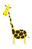 colour,cartoon,funny,animal,mammal,giraffe,girafe